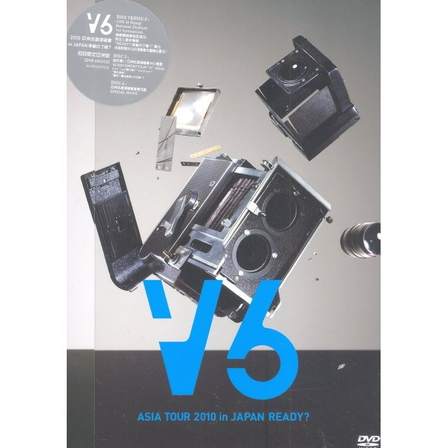 V6 Asia Tour 2010 in Japan Ready: Asia Version [First Press Limited Edition]