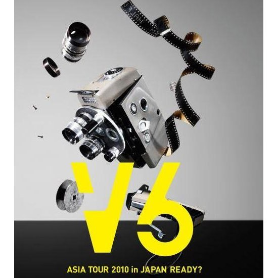 V6 Asia Tour 2010 in Japan Ready
