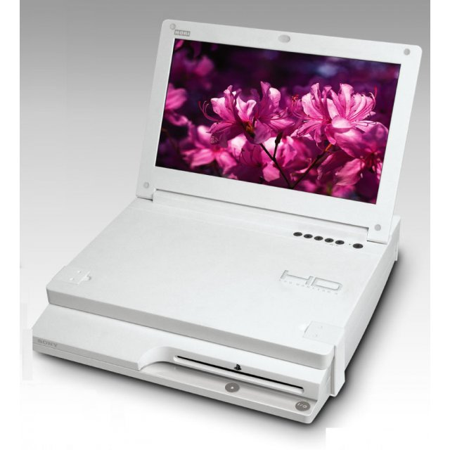 HD Liquid Crystal Monitor 3 (white)