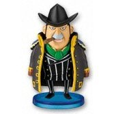 One Piece World Collectable Pre-Painted PVC Figure vol.8: TV062 - Capone Gang Bege