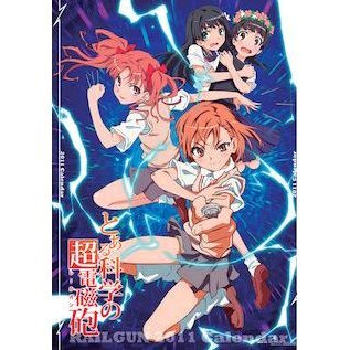 Anime Calendar 2011: To Aru Kagaku no Railgun