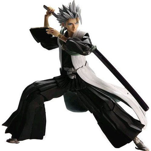 Bleach Play Arts Kai Pre-Painted Action Figure: Hitsugaya Toshiro