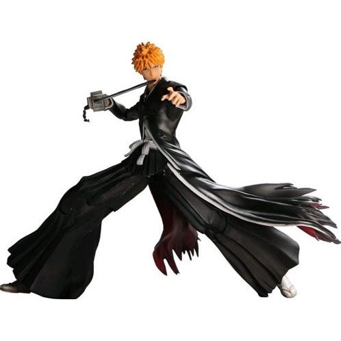 Bleach Play Arts Kai Pre-Painted Action Figure: Kurosaki Ichigo