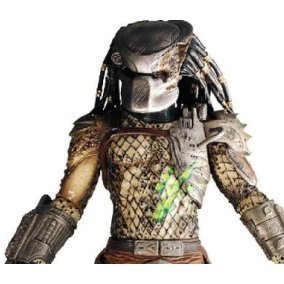 Predators Series 2 Pre-Painted  PVC Action Figure: Classic Predator
