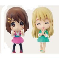 K-On! Ichiban Kuji Pre-Painted PVC Figure: Mugi & Yui Set