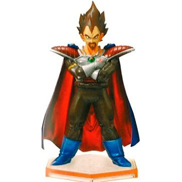 Legend of Saiyan Non Scale Pre-Painted PVC Collectable Figure: 08 Vegeta King