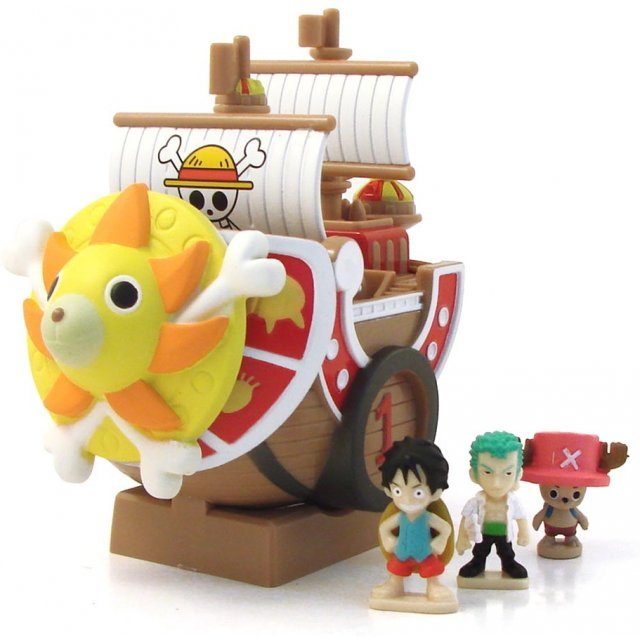 One Piece Chara Bank Pirate Ship Series Non Scale Pre-Painted  Figure : Thousand Sunny