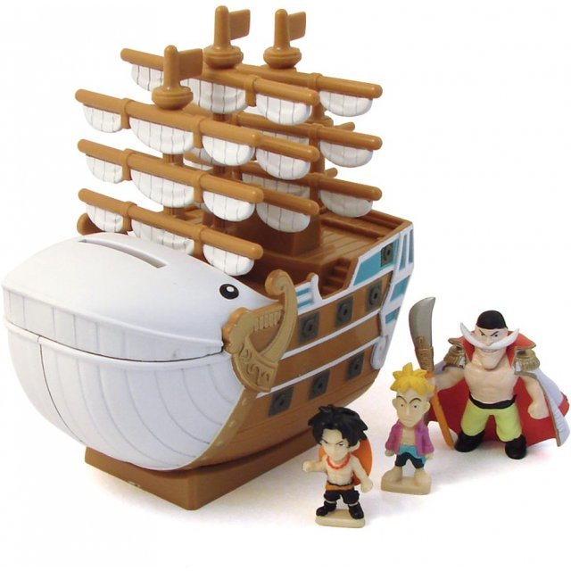 One Piece Chara Bank Pirate Ship Series Non Scale Pre-Painted  Figure : Moby-Dick