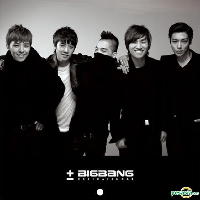 Bigbang Making DVD + Calender & Diary 2011 [Limited Edition]