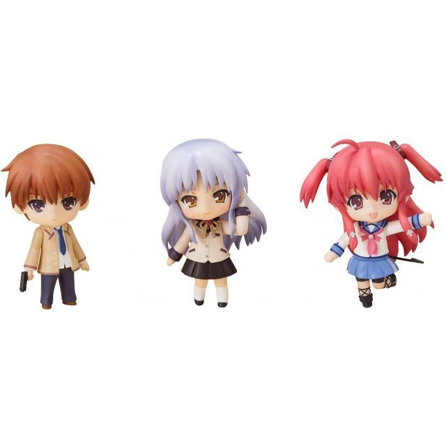 Nendoroid Petite Non Scale Pre-Painted Figure Set: Angel Beats! Set 02