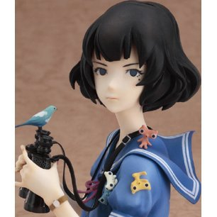 The Tatami Galaxy Non Scale Pre-Painted PVC Figure: Akashi-san