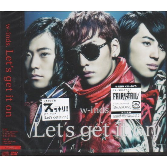 Let's Get It On / Be As One [CD+DVD Limited Edition Type B]