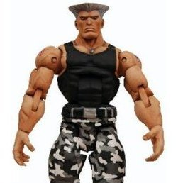 Street Fighter IV  Action Figure: Guile Alternate Costume Ver.