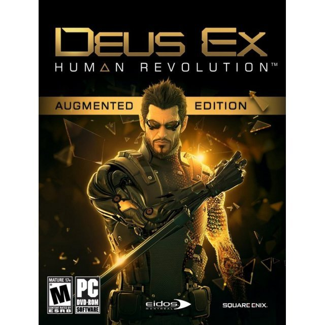 Deus Ex: Human Revolution (DVD-ROM) (Augmented Edition)