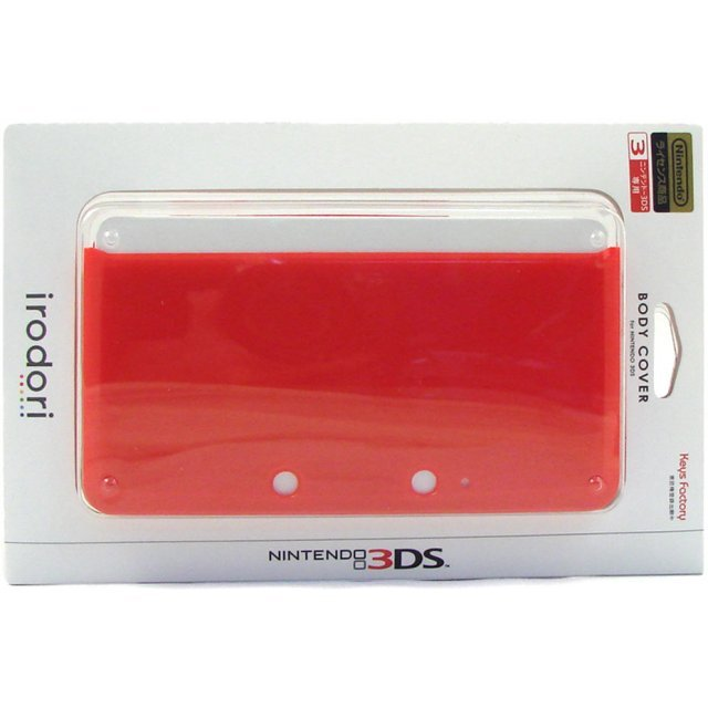Body Cover 3DS (red)