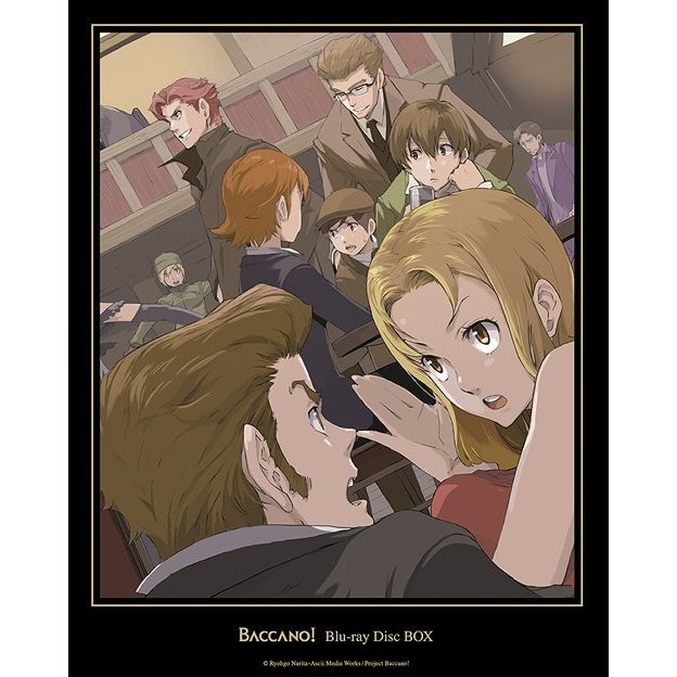 Baccano! Blu-ray Disc Box [Limited Edition]