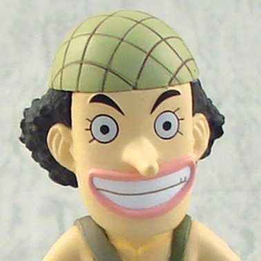 One Piece World Collectable Pre-Painted PVC Figure vol.9: TV067 - Usopp