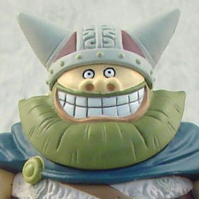 One Piece World Collectable Pre-Painted PVC Figure vol.9: TV072 - Brogy