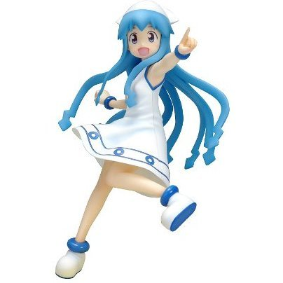 Beach Queens - Shinryaku! Ika Musume 1/10 Scale Pre-Painted PVC Figure: Ika Musume DX Version
