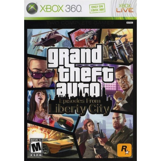 Grand Theft Auto: Episodes from Liberty City (Case broken)