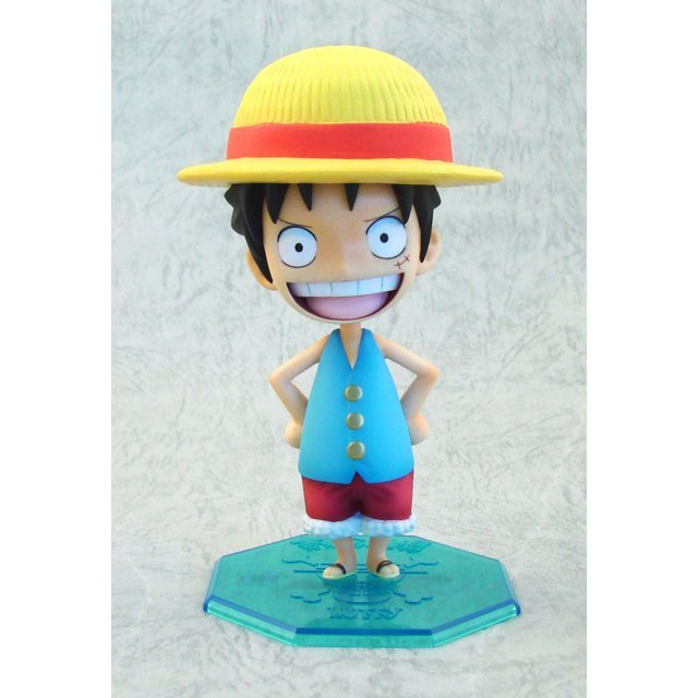 Excellent Model Limited Portraits of Pirates P.O.P.  Non Scale Pre-Painted PVC Figure: Luffy Memorial Ver.