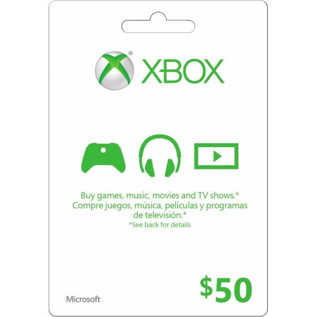 Xbox Gift Card (USD 50)