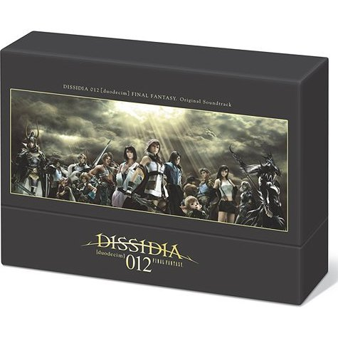 Dissidia 012 Deodecim Final Fantasy Original Soundtrack [3CD+DVD Limited Edition]
