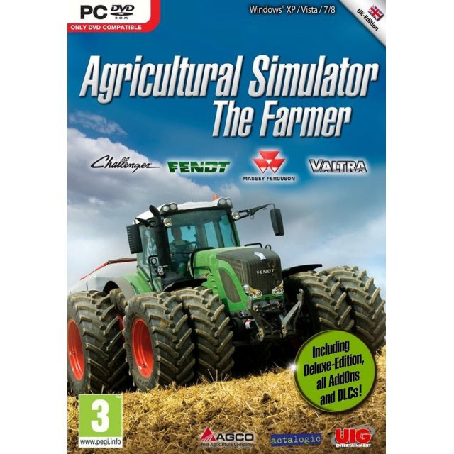 Agricultural Simulator: The Farmer (DVD-ROM)