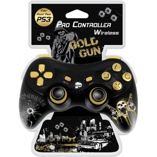 SubSonic Pro Controller Wireless (Gold Gun)