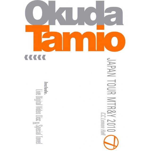 Okuda Tamio Japan Tour MTR&Y 2010 C.C.Lemon Hall [Limited Edition]