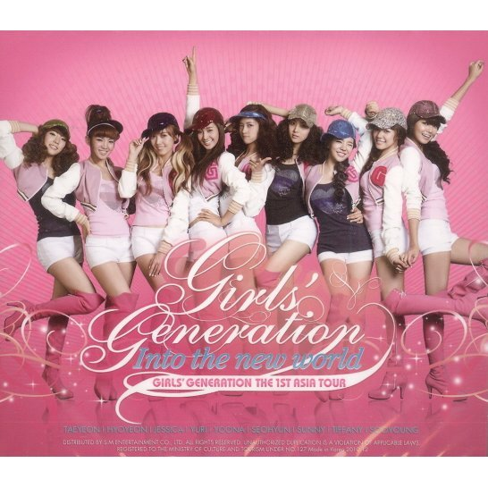 Girls' Generation Live Album - The 1st Asia Tour : Into the New World [2CD]