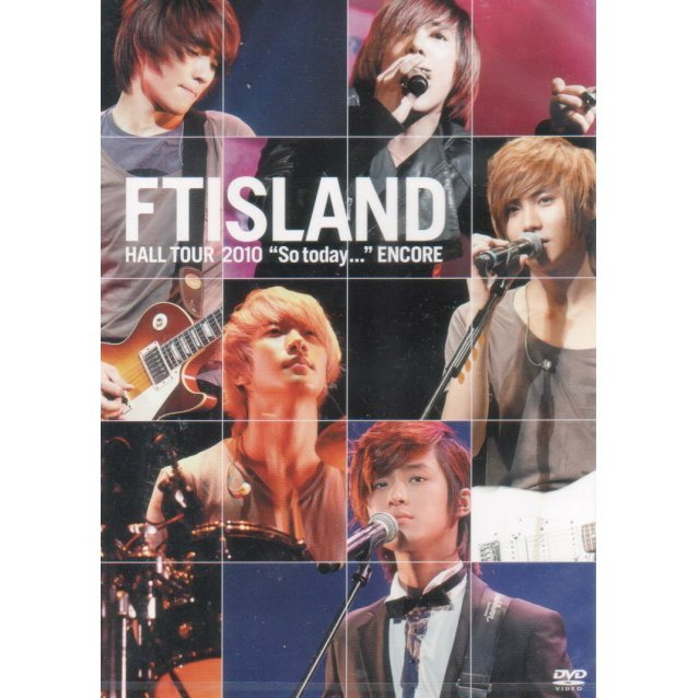 Ftisland Hall Tour So Today Encore