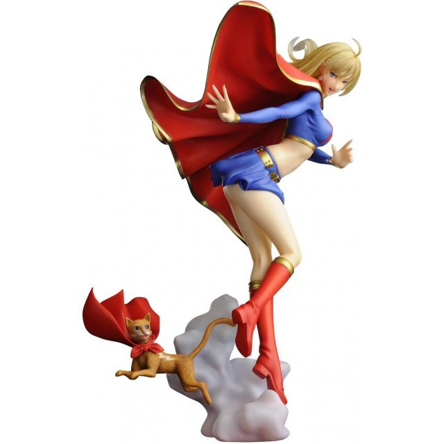 DC Bishoujo Collection 1/7 Scale Pre-Painted PVC Figure: Supergirl
