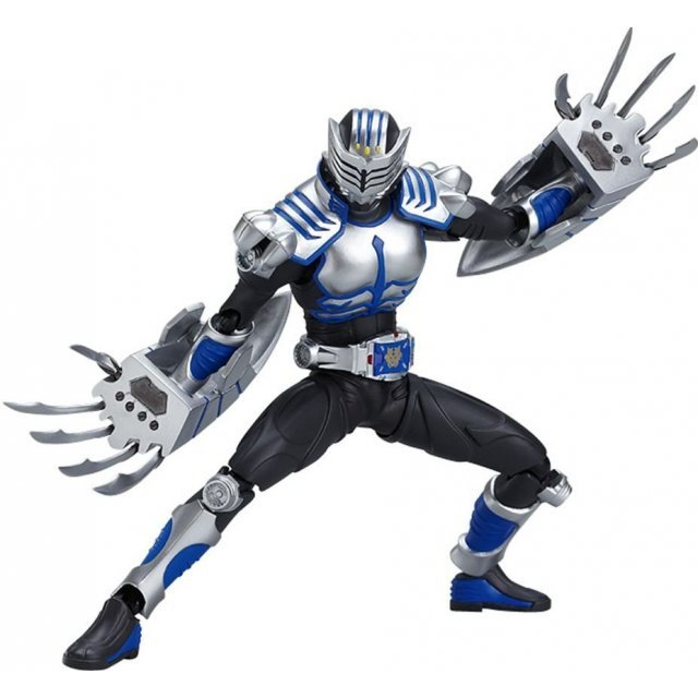 Kamen Rider Dragon Knight Non Scale Pre-Painted PVC Figure: figma Kamen Rider Axe