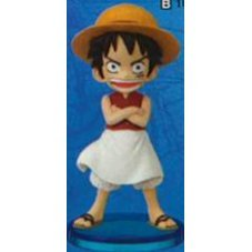 One Piece World Collectable Pre-Painted PVC Figure vol.10: TV077 - Luffy