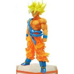 Legend of Saiyan Non Scale Pre-Painted PVC Collectable Figure: 16 Son Goku Super Saiyan Ver.