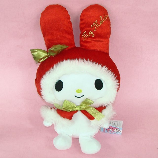 My Melody Plush Doll:  My Melody Red Ver.