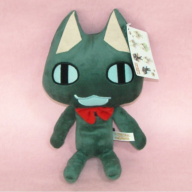 Dokodemoissyo Fun Collection Plush Doll: Kuro Smiling Ver.