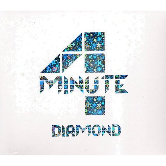 4Minute - Diamond [First Press Limited Edition CD+DVD]