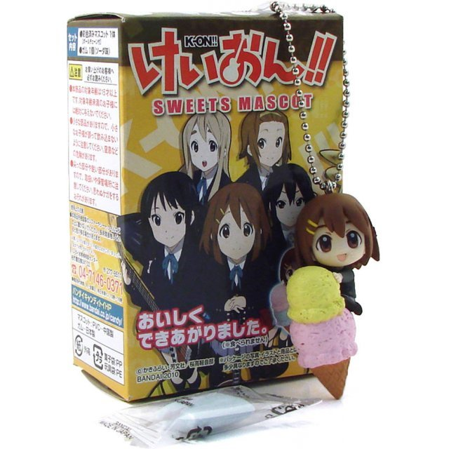 K-ON! Sweets Mascot Pre-Painted Candy Toy