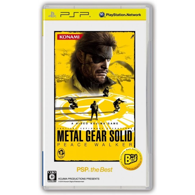 Metal Gear Solid Peace Walker (PSP the Best)
