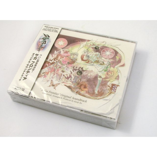 SaGa Frontier Original Soundtrack (case damaged)