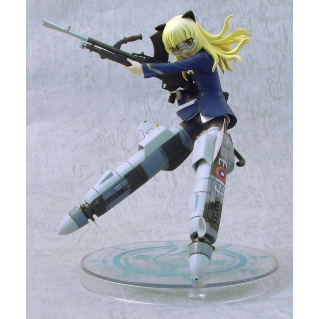 Strike Witches EX Non Scale Pre-Painted PVC Figure Vol.3: Perrine-H. Clostermann