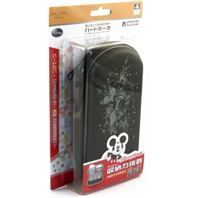 Disney Character Hard Pouch Portable (Mickey Mouse Paint)