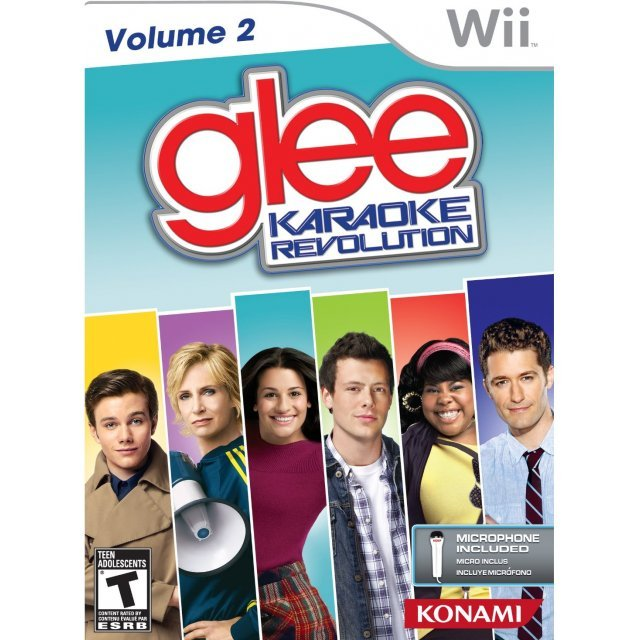 Karaoke Revolution Glee 2: Road to Regionals (w/ Microphone)