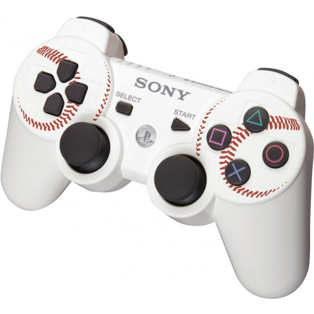 Dual Shock 3 (MLB White) (Limited Edition)