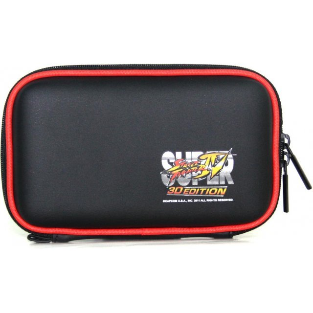 Super Street Fighter IV 3D Edition Pouch 3DS (Black)