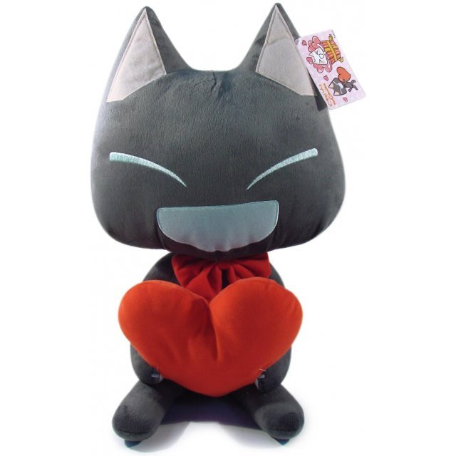 Dokodemoissyo Fun Collection Plush Doll: Kuro Heart Ver.