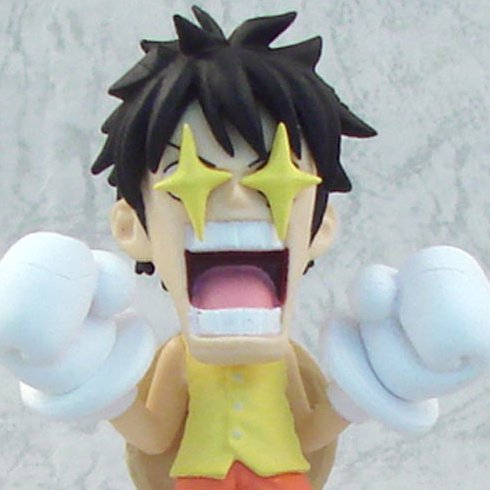 One Piece World Collectable Pre-Painted PVC Figure vol.11: TV088 - Luffy