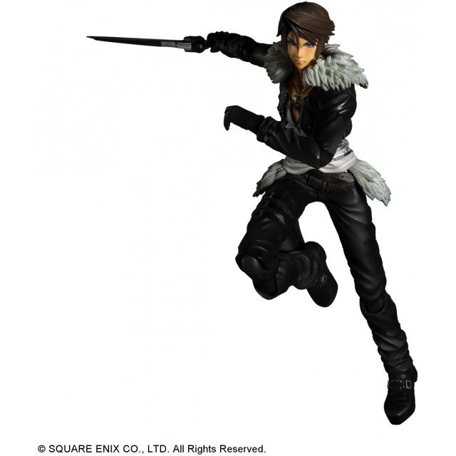 Dissidia Final Fantasy Play Arts Kai Pre-Painted Action Figure: Squall